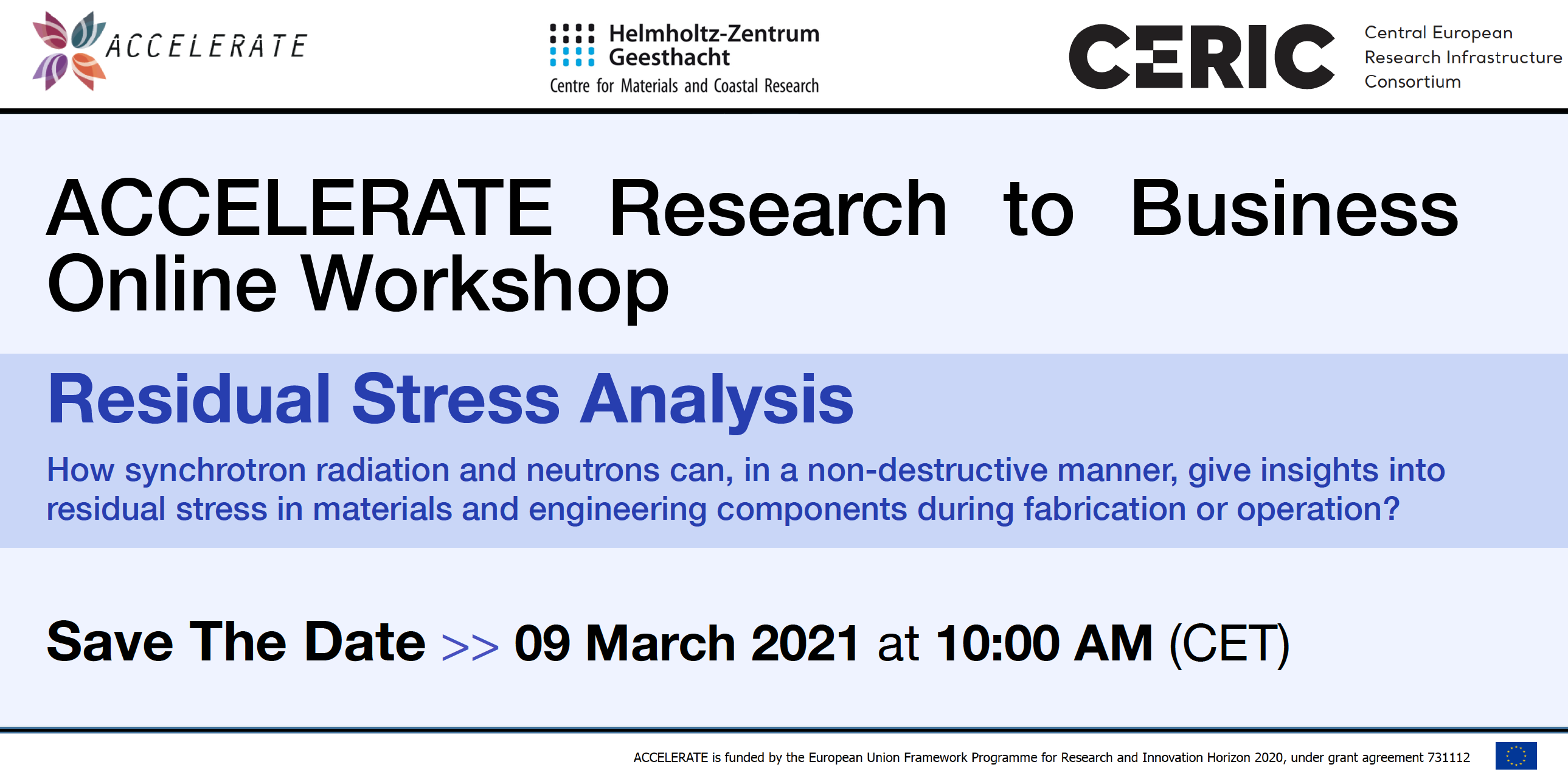 Save the date and Register now► Research2Business Online-Workshop: Residual Stress Analysis